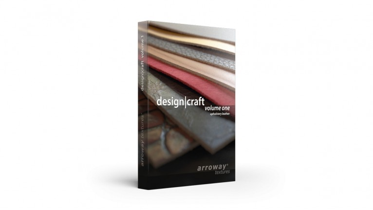 Arroway Textures - Design|Craft - Volume One (Upholstery Leather)