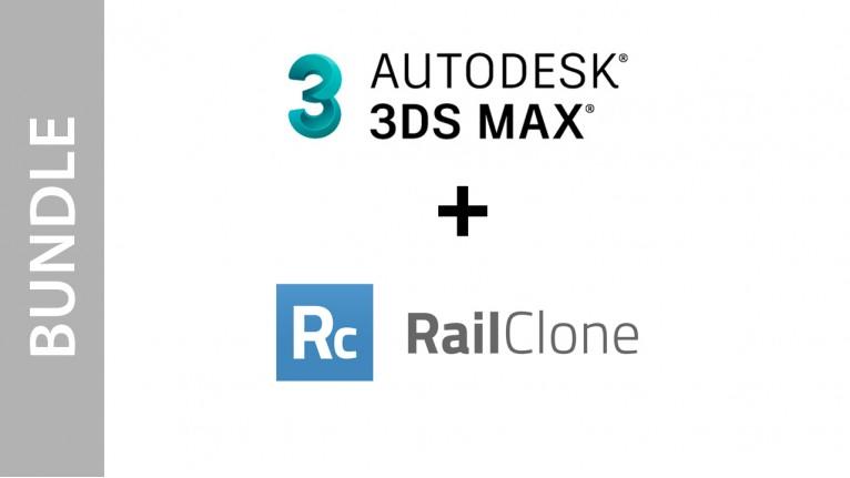 Autodesk 3ds Max + RailClone - Bundle